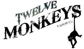 logo twelve monkeys vapor